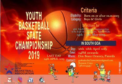 YOUTH STATE Basketball Championship 2019