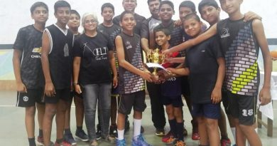 Lourdes & Sharada Dashing Damsels are Sub-Junior Basketball Champs