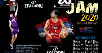 3×3 Basketball Jam on 23rd to 26th Jan 2020 at DBO